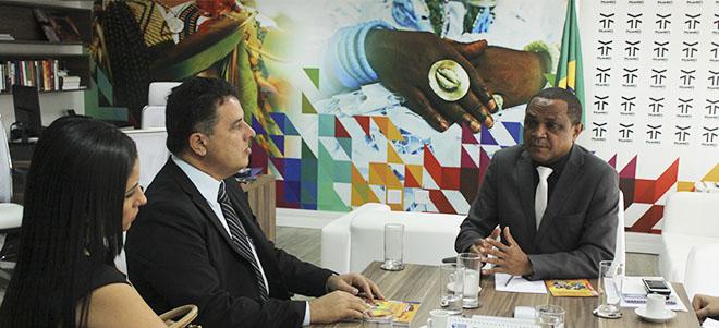 Reunião com o prefeito da União de Palmares
