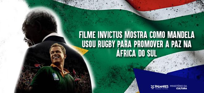 Filme Invictus Mostra Como Mandela Usou Rugby Para Promover