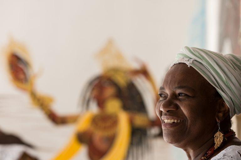 Mãe Baiana destaca que o combate efetivo à intolerância religiosa deve ser fruto de uma política transversal de governos (Foto: Secretaria Especial da Cultura)